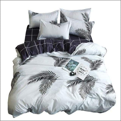 White Embroidered Boutique Bedding Set