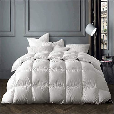 White Goose Down Bedding Comforter