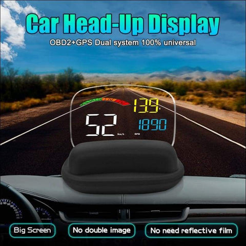 Front Windshield Car Display Projector - Travel Electronics