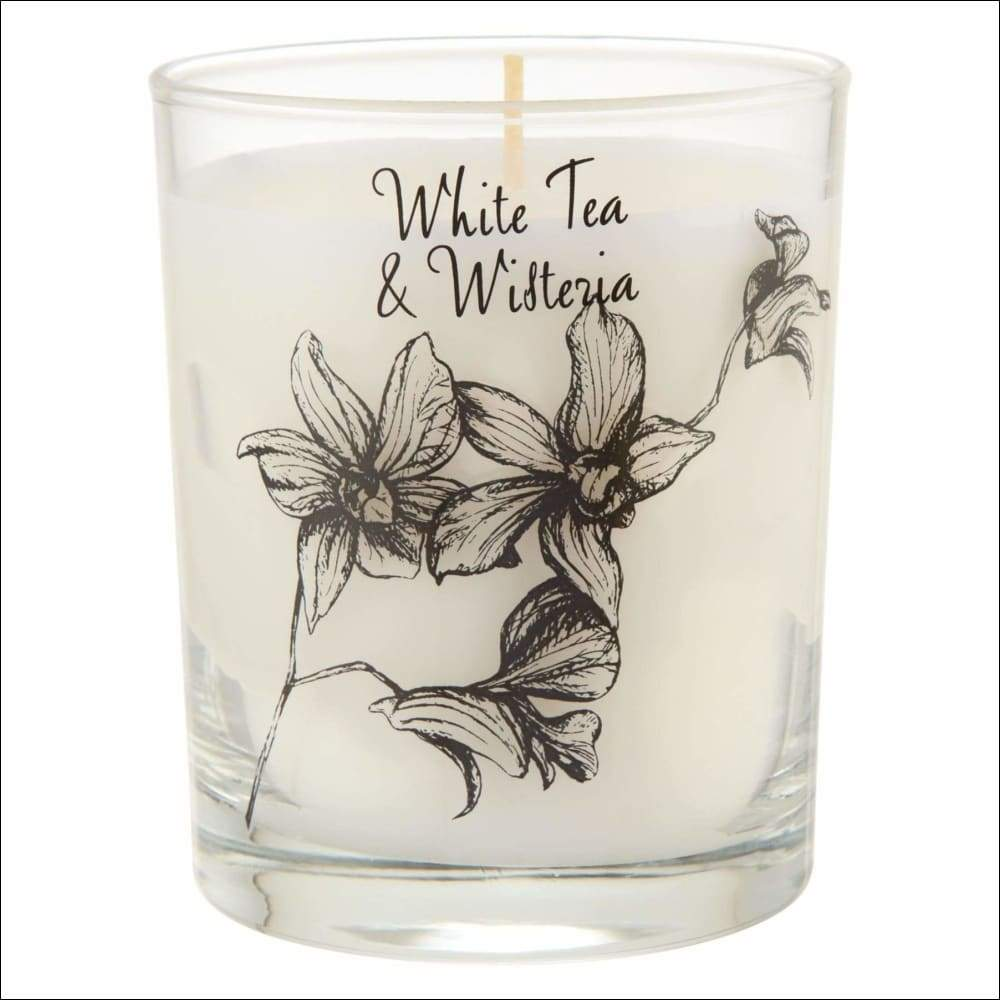 Wisteria & White Tea 6PC Scented Candle Set - Scented Candles
