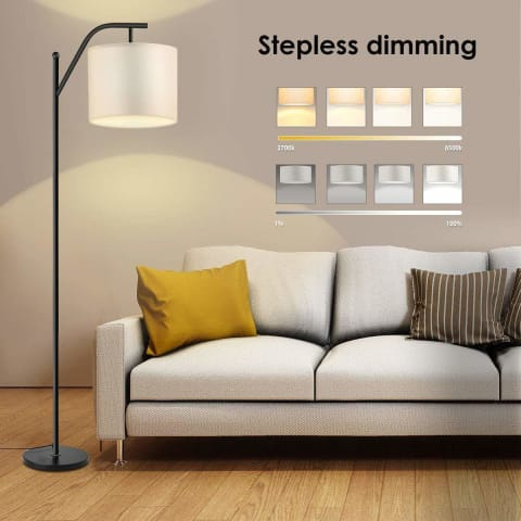 Smart Industrial Arc Floor Lamp - Lamps & Lighting