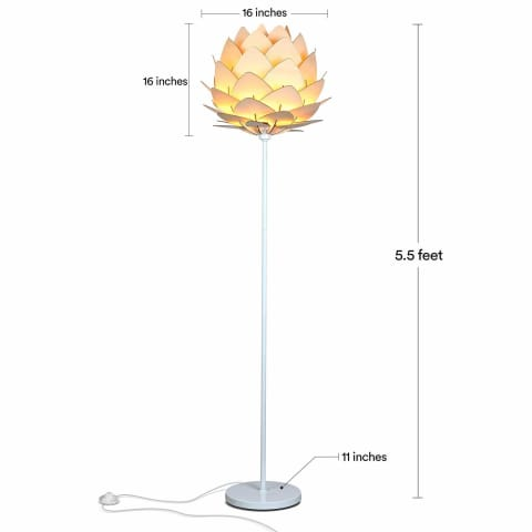 Contemporary Artichoke Floor Lamp - Lamps & Lighting
