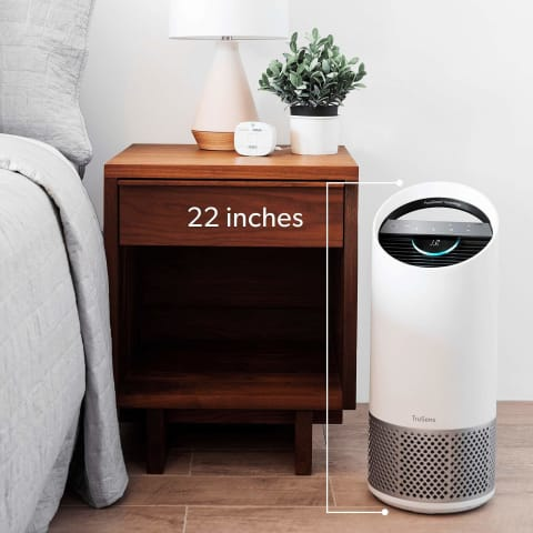 Dual Airflow HEPA Home Air Purifier - Home Electronics