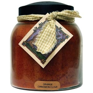 Orange Cinnamon Clove Scented Candle - Scented Candles
