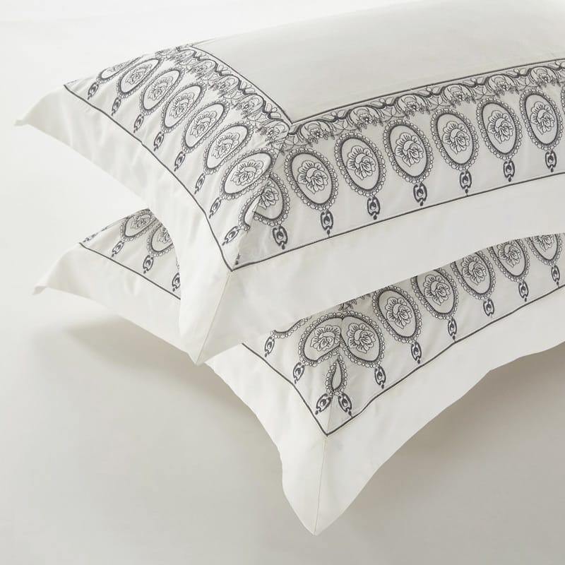 Egyptian Embroidery Duvet 4PC Bedding Set - Novarian Creations