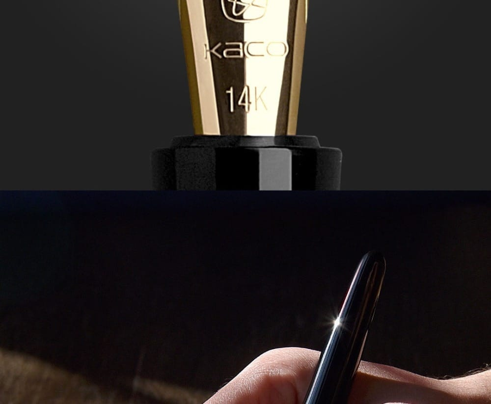 14K Gold Luxury Calligraphy Signature Pen