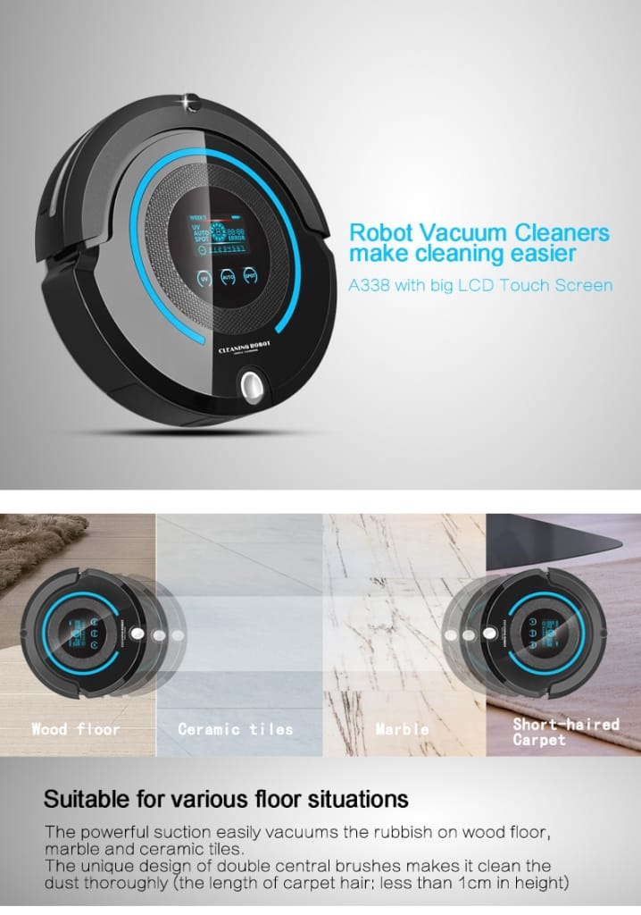 Auto-charge Multi-function Robot Vacuum Cleaner - Home Electronics