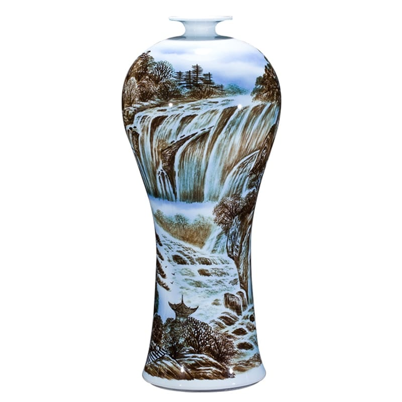 Master Under-glazed Tabletop Flower Vase - Home & Garden