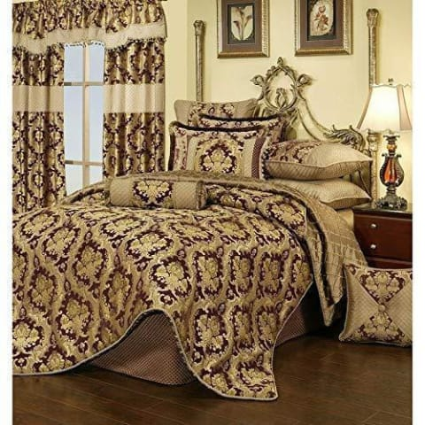 Medallion Royalty 3PC Bedding Set - Novarian Creations