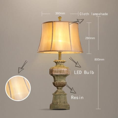 European Palace Nostalgic Table Lamp - Lamps & Lighting