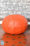 Orainsear Leather Pouf