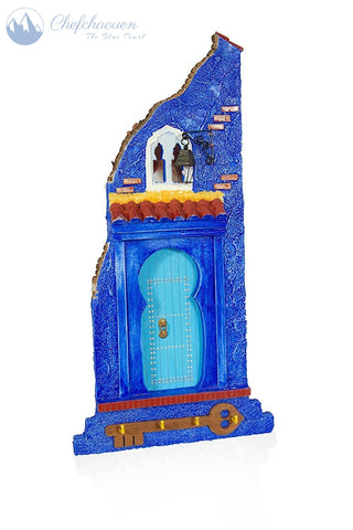 Symbolic Door of Chefchaouen