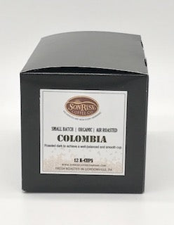 Organic Colombia K-cups 12 count