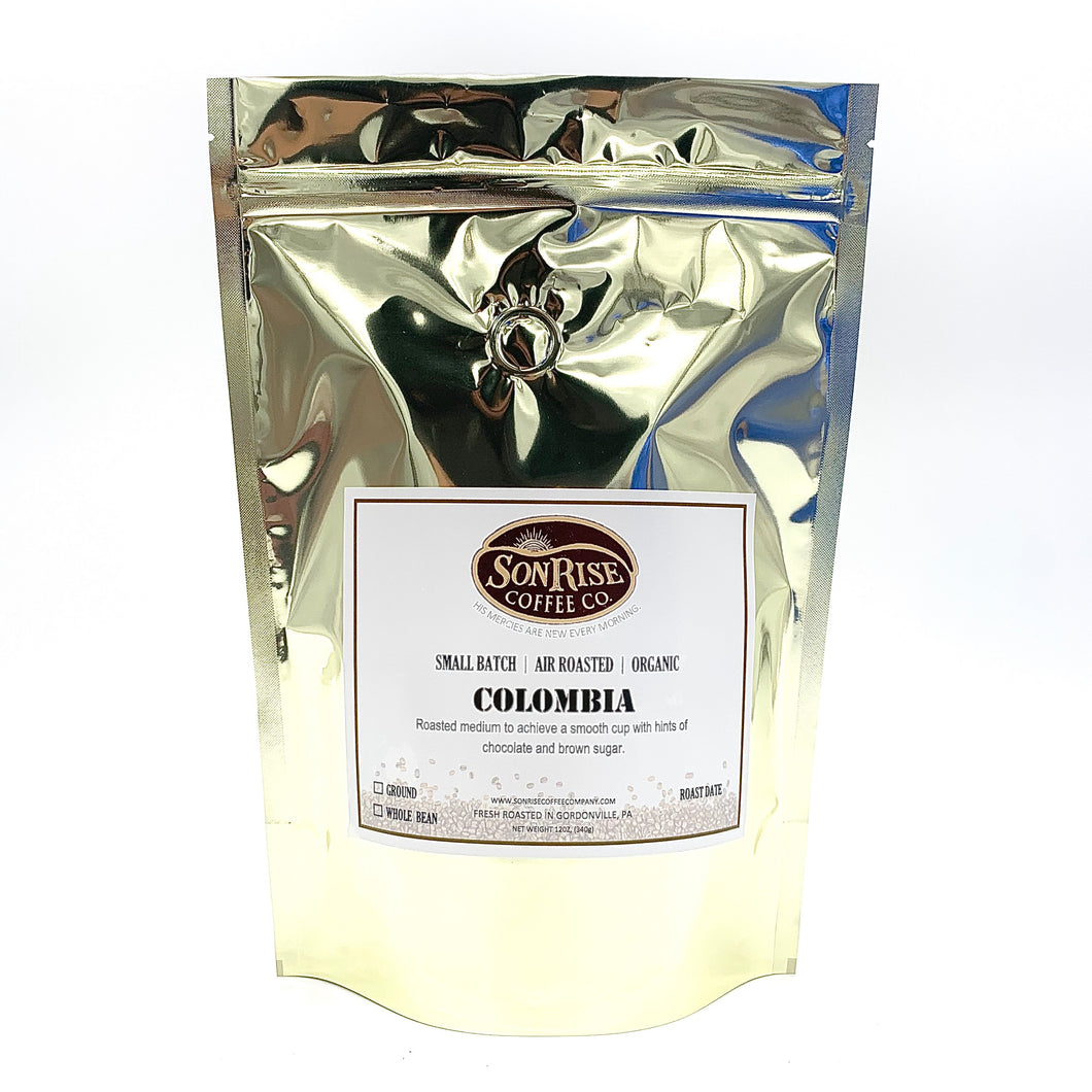 Organic Colombia ''Medium Roast