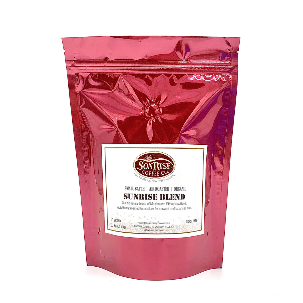 "Organic Sunrise Blend ""Medium Roast"""