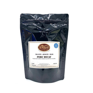 "Organic Peru SWP Decaf ""Dark Roast"""