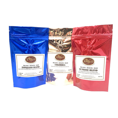 Organic Coffee Sampler