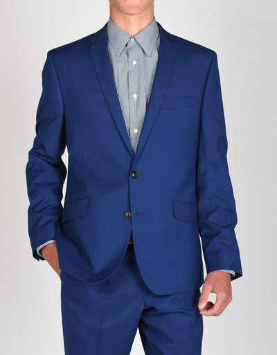 Smashing Hot Blue Suit Separates Coat