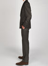 Brunswick Brown Textured Suit