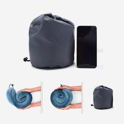 Agatha Travel Pillow Foldable design