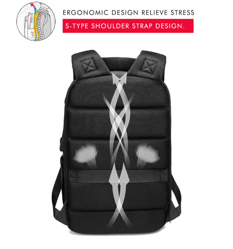 NEW 15.6 inch Laptop Travel Backpacks comfort