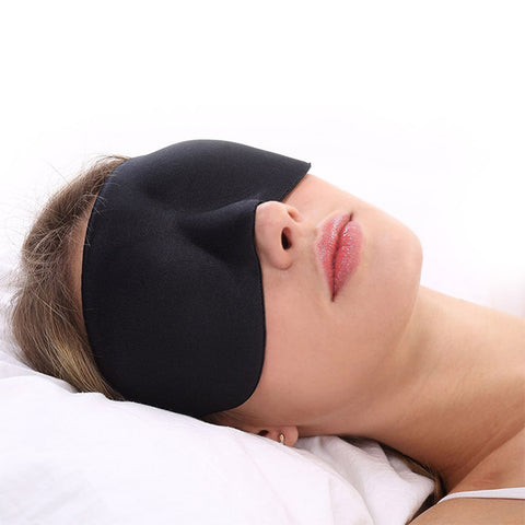 3D Memory Foam Travel Sleep Eye Shade Cover