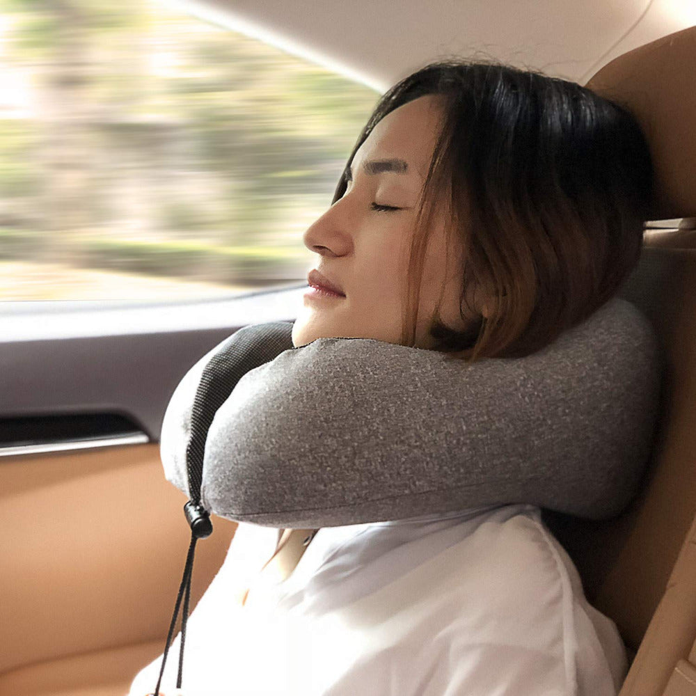 Agatha Travel Sleep Travel Pillow Detail_03