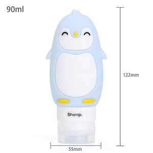 Travel Silicone Bottles Shampoo Shower Sub-bottling
