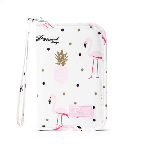Cute Waterproof Travel Passport Holder Wallet Bags
