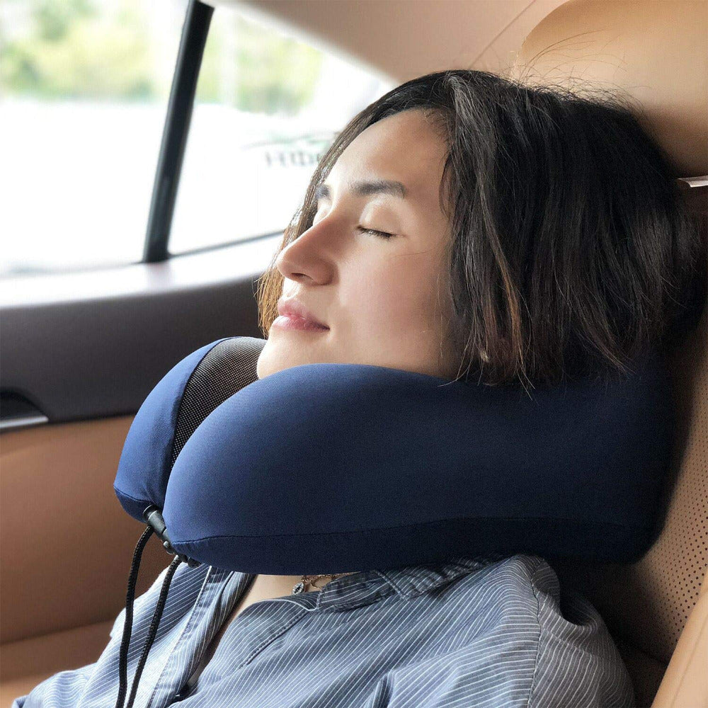 Agatha Travel Sleep Travel Pillow Detail_05