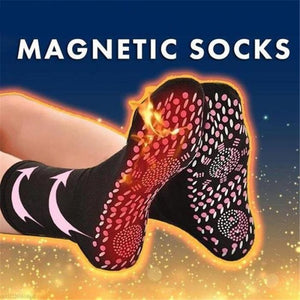 Winter Warm Tourmaline Magnetic Therapy Self-Heating Socks