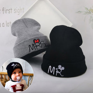 Cute Baby Autumn Winter Hats Knitted