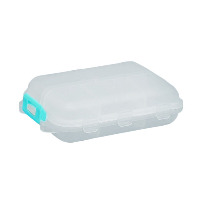 Travel Convenient Pill Box 12 Grids Pills Dispenser