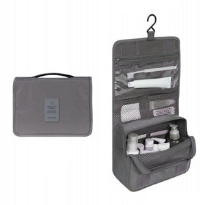 Agatha Travel Accessories Toiletry Bags Gray