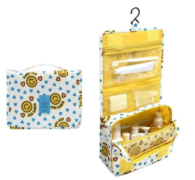 Agatha Travel Accessories Toiletry Bags Yellow