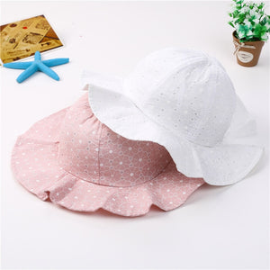 Lovely Lace Princess Baby Girl Brim Beach Sun Hats