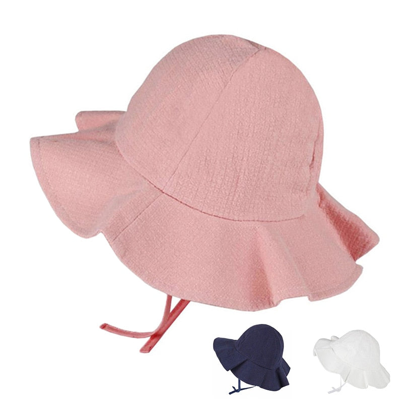 Agatha Travel Baby Girl Brim Hats Default