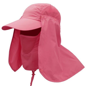 Agatha Travel Sun Protection Hats Man Watermelon Red
