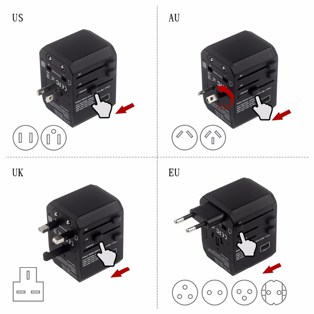 Agatha Travel International Plug Adapter Detail_01