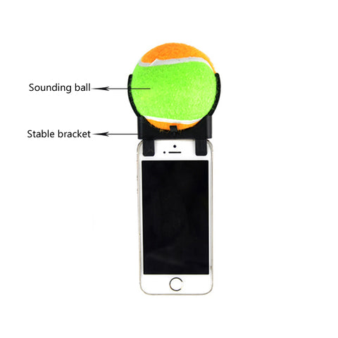 Travel Outdoor Pets Phone Clip Selfie Artifact with Interactive Toys