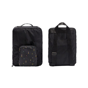 Agatha Travel Accessories Folding Backpack Black