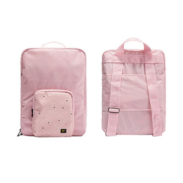 Agatha Travel Accessories Folding Backpack Pink