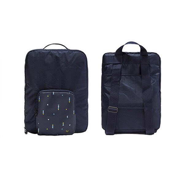 Agatha Travel Accessories Folding Backpack Navy
