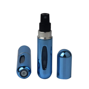 Mini Refillable Bottle With Spray Pump for Travel