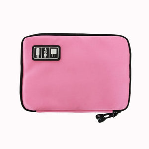 Agatha Travel Luggage Electronic Organizers Pink
