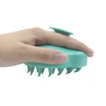 Handheld Silicone Scalp Shampoo Massage Brush