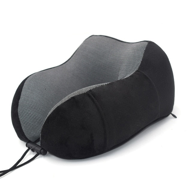 Agatha Travel Sleep Travel Pillow Black
