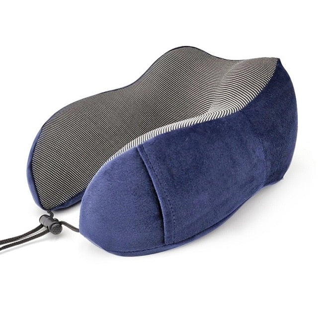 Agatha Travel Sleep Travel Pillow Deep Blue