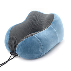 Agatha Travel Sleep Travel Pillow Blue