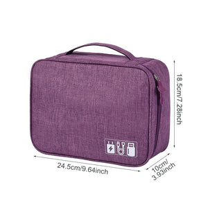 Agatha Travel Bags Travel Electronic Organizers Detail_05
